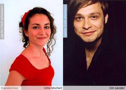Lotte Letschert und Tim Sander, Schauspielerpaar